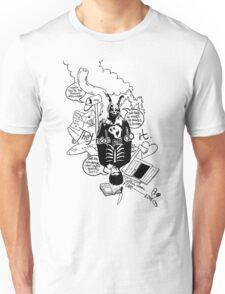 Donnie Darko (White background) Unisex T-Shirt