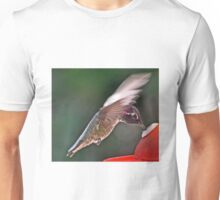 COLORFUL  MALE ANNA'S SIPPING NECTAR  Unisex T-Shirt