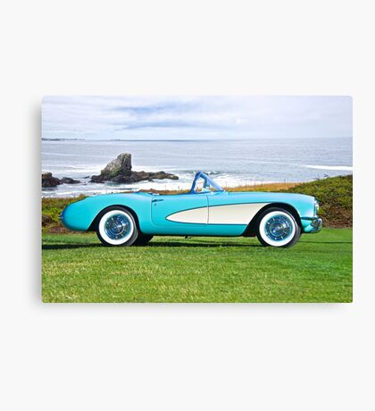 1957 Chevrolet Corvette Roadster I Canvas Print
