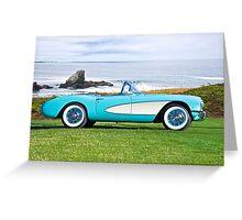1957 Chevrolet Corvette Roadster I Greeting Card