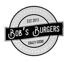 Bob's Burgers Logo Photographic Print