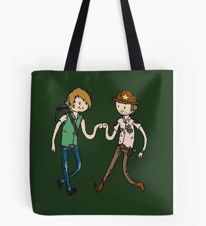 Walking Death Time Tote Bag