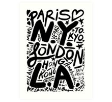 City Love Art Print