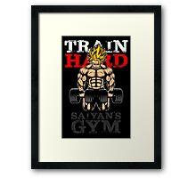 TRAIN HARD - Super Saiyan Version Framed Print