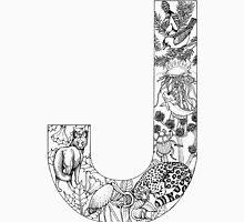 Animal Alphabet Letter J Unisex T-Shirt
