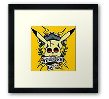 Thunder Pokemon Framed Print