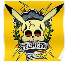 Thunder Pokemon Poster