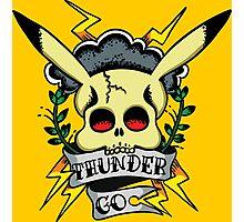 Thunder Pokemon Photographic Print