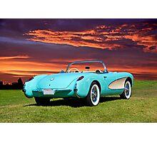 1957 Chevrolet Corvette Roadster II Photographic Print