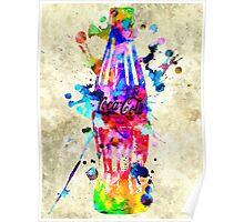 Soft Drink Grunge  Poster