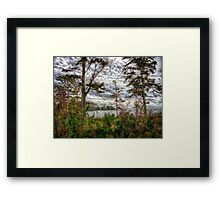 Sunset Point Mandeville Framed Print