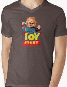 Chucky - A Toy Story (Parody) Mens V-Neck T-Shirt