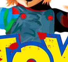 Chucky - A Toy Story (Parody) Sticker