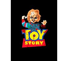 Chucky - A Toy Story (Parody) Photographic Print