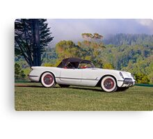 1953 Chevrolet Corvette Roadster Canvas Print