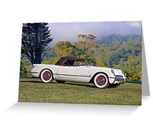 1953 Chevrolet Corvette Roadster Greeting Card