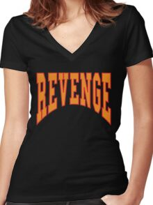 OVO - Revenge Women's Fitted V-Neck T-Shirt