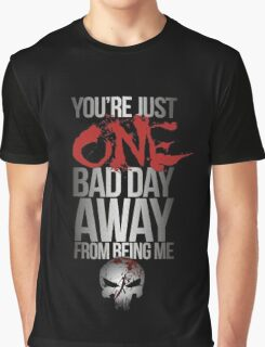 Daredevil Punisher One Bad Day Graphic T-Shirt