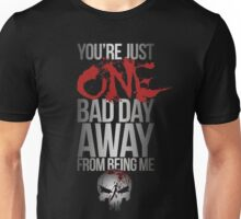 Daredevil Punisher One Bad Day Unisex T-Shirt