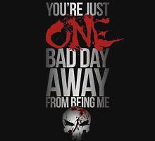 Daredevil Punisher One Bad Day Unisex T-Shirt