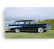 1957 Chevrolet Bel Air Nomad Wagon Canvas Print