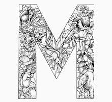 Animal Alphabet Letter M Unisex T-Shirt