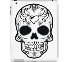 Skull Black  iPad Case/Skin