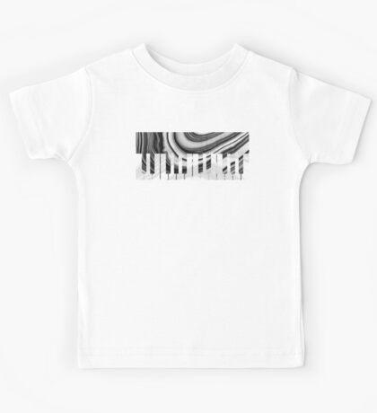 Marbled Music Art - Piano Keys - Sharon Cummings Kids Tee
