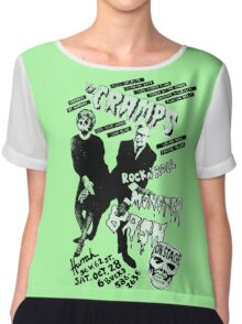 The Cramps - Concert Poster Chiffon Top