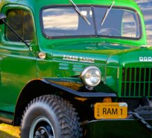 1949 Dodge Power Wagon Ram I Sticker