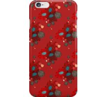 Red Poppy Seeds iPhone Case/Skin