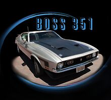 BOSS 351 Front by tmpsg