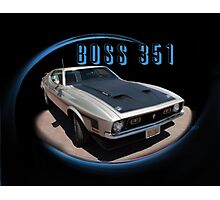 BOSS 351 Front Photographic Print