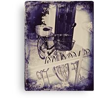 Vintage Milan For Cyclists  Canvas Print