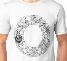 Animal Alphabet Letter O Unisex T-Shirt