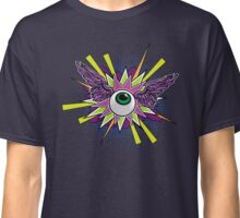 Comic book flying eye Classic T-Shirt