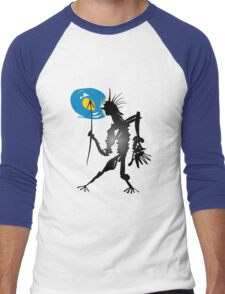 let there be light Men's Baseball ¾ T-Shirt