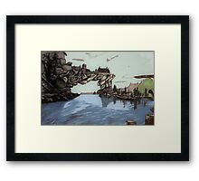Solitude Sunrise Framed Print
