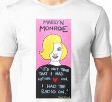 Marilyn Monroe folk art Unisex T-Shirt