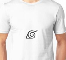 Naruto Hidden Leaf Village Konohagakure Unisex T-Shirt