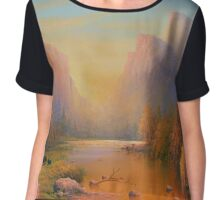 Three Bears Yosemite Chiffon Top