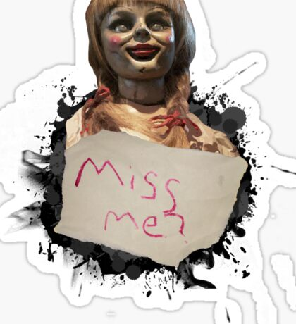 Annabelle the Doll Sticker