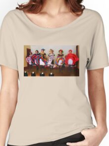 Dance Hall Girls in Old West Women's Relaxed Fit T-Shirt