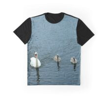 Blue water fowl Graphic T-Shirt
