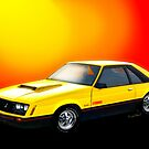 79 Ford Mustang Cobra Third Generation 79-93 by ChasSinklier
