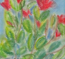 Rhododendron 1 by David W. Trotter