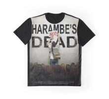 Harambe's Not Dead Graphic T-Shirt