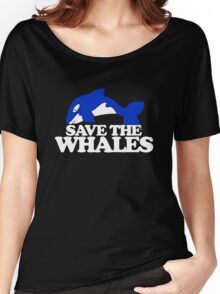 Save Whales Women's Relaxed Fit T-Shirt