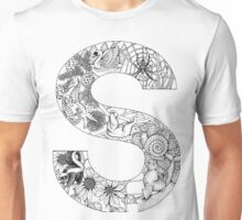 Animal Alphabet Letter S Unisex T-Shirt