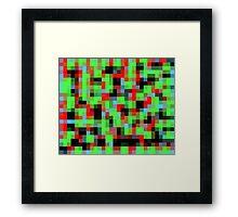 Pixel 2 Framed Print